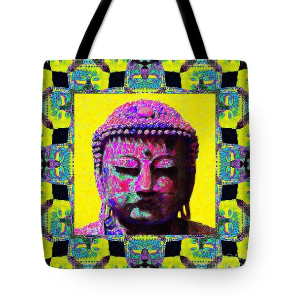 Buddha Abstract Window 20130130p120 Tote Bag by Wingsdomain Art and Photography