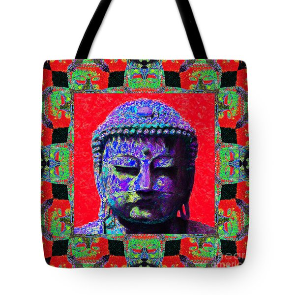 Buddha Abstract Window 20130130p55 Tote Bag by Wingsdomain Art and Photography