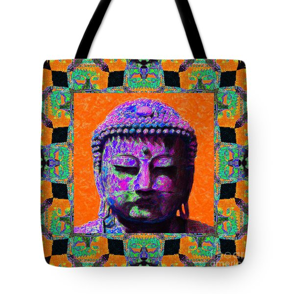 Buddha Abstract Window 20130130p85 Tote Bag by Wingsdomain Art and Photography