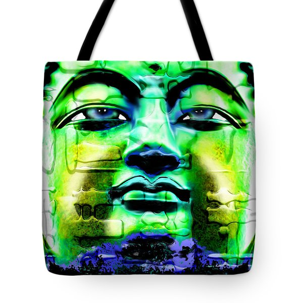 Buddha Tote Bag by Daniel Janda