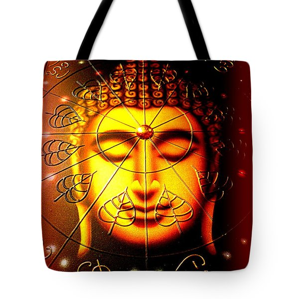 Buddha Tote Bag by The Creative Minds Art and Photography