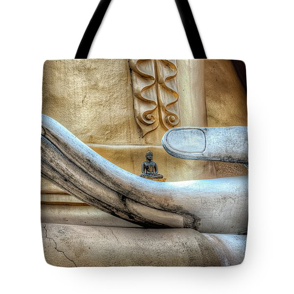 Buddha's Hand Tote Bag by Adrian Evans