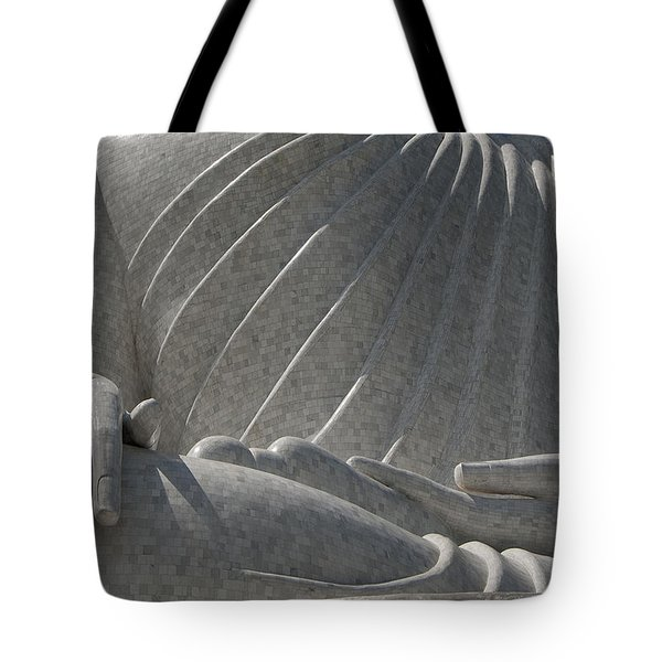 Buddha's Hands - Big Buddha Of Phuket Dthp415 Tote Bag by Gerry Gantt