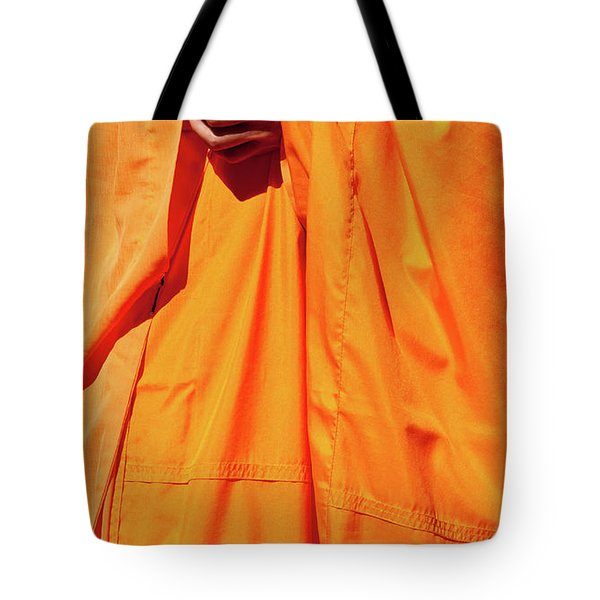 Buddhist Monk 02 Tote Bag by Rick Piper Photography