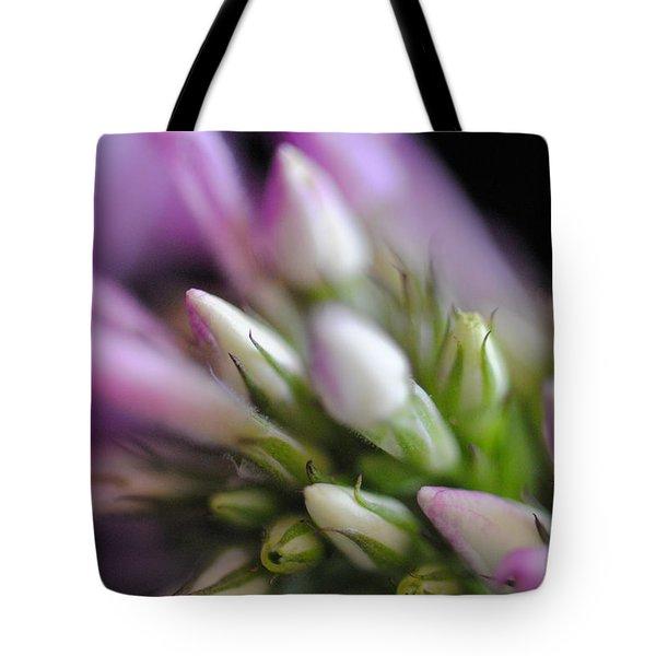 Budding Phlox Tote Bag by Mary A Mergener