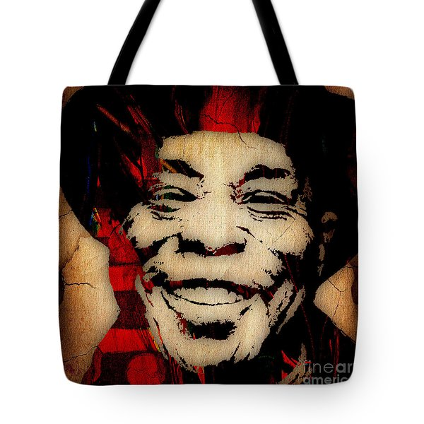 Buddy Guy Collection Tote Bag by Marvin Blaine