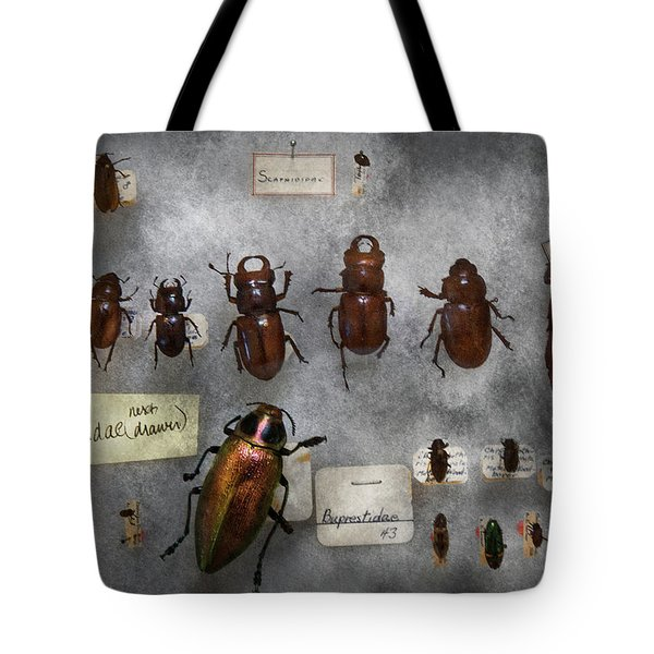 Bug Collector - The Insect Collection  Tote Bag by Mike Savad