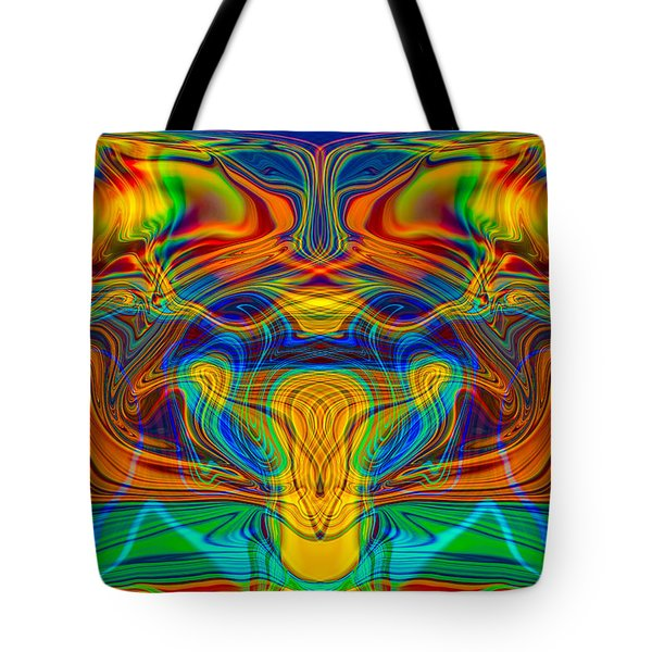 Bug Eyed Monster Tote Bag by Omaste Witkowski