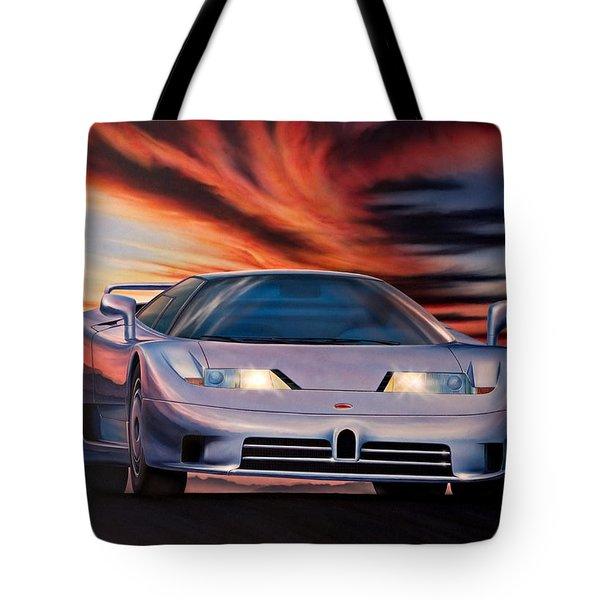 Bugatti Tote Bag by Garry Walton