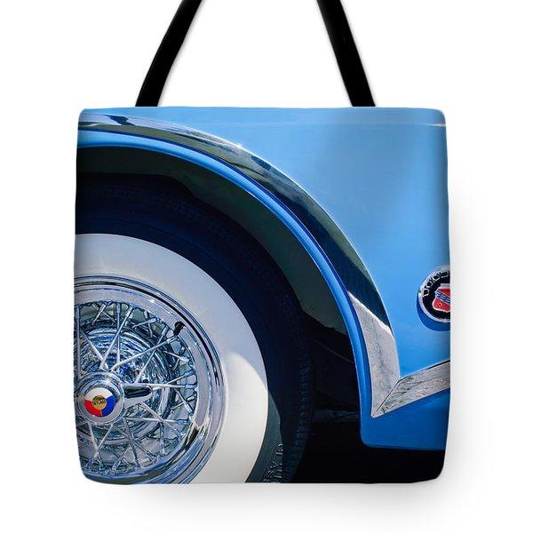 Buick Skylard Wheel Emblem Tote Bag by Jill Reger