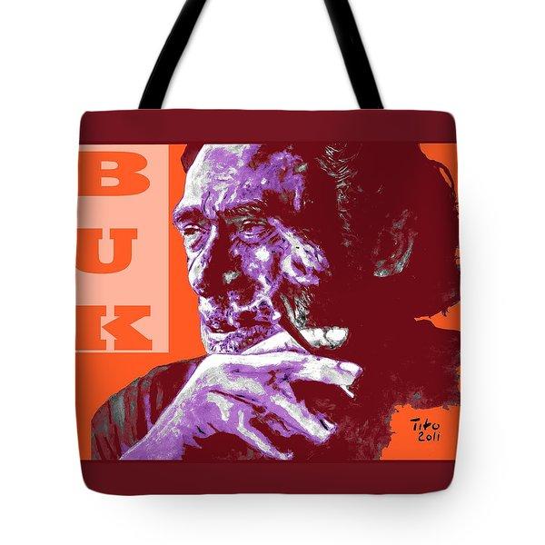 Buk  Tote Bag by Richard Tito
