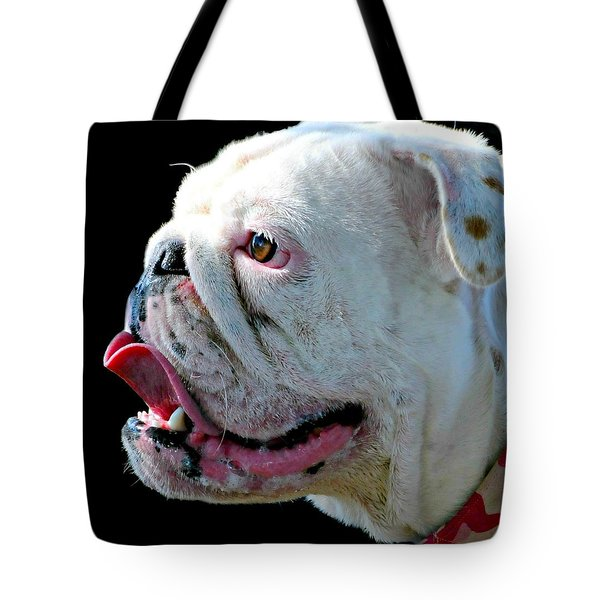 Bull Tote Bag by Diana Angstadt