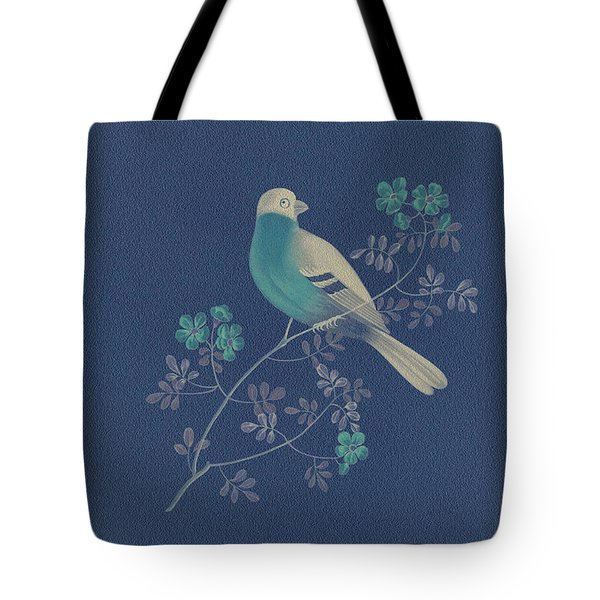 Bull Finch-3 Photoart Tote Bag by Becky Hayes