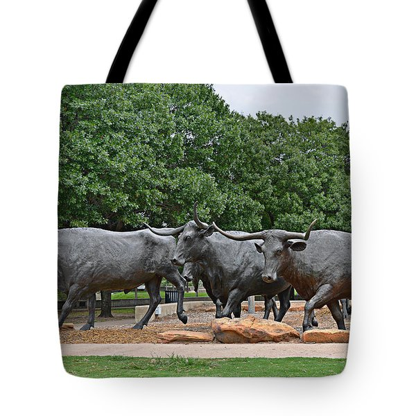 Bull Market Tote Bag by Christine Till