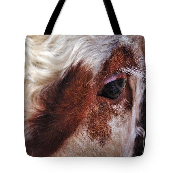 Bull's Eye Tote Bag by Kaye Menner