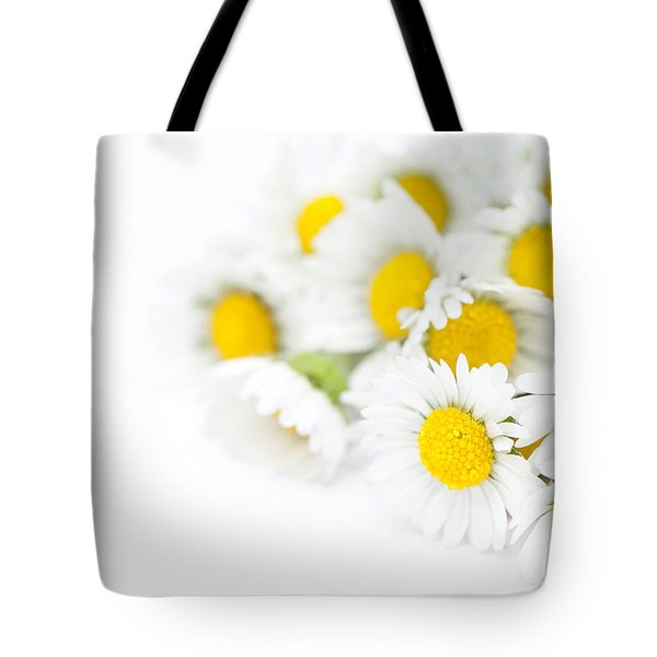 Bunch Of Daisies Tote Bag by Anne Gilbert