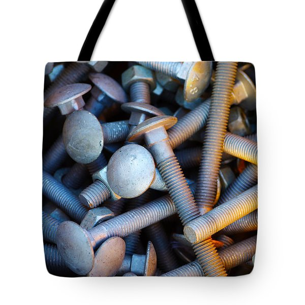 Bunch of Screws Tote Bag by Carlos Caetano