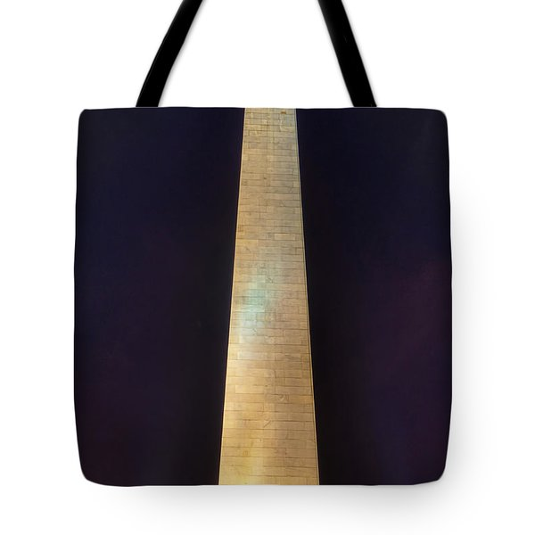 Bunker Hill Monument Tote Bag by Joann Vitali