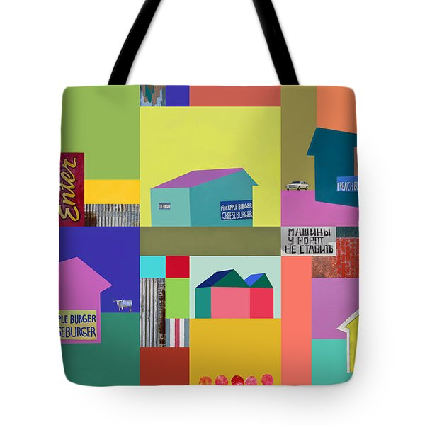 Burger Joint #1 Tote Bag by Elena Nosyreva