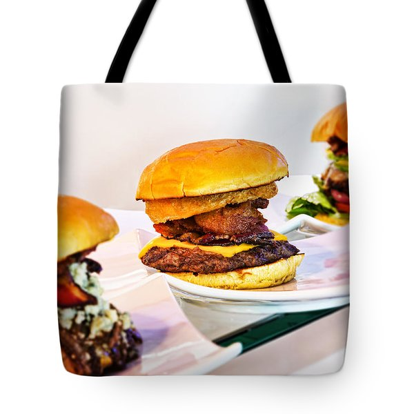 Burger Time Tote Bag by Kelley King