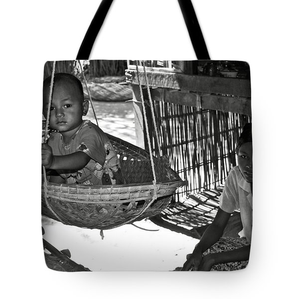 Burmese mother and son Tote Bag by RicardMN Photography