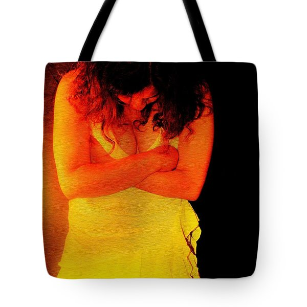 Burned Tote Bag by Jessica Shelton