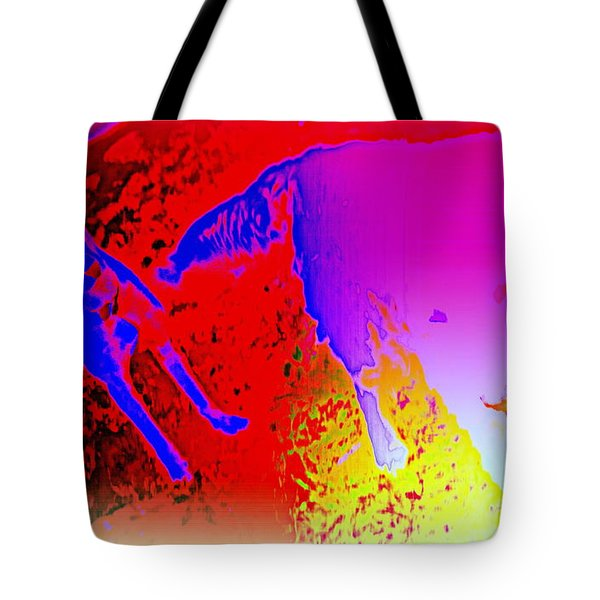 burning friendship Tote Bag by Hilde Widerberg