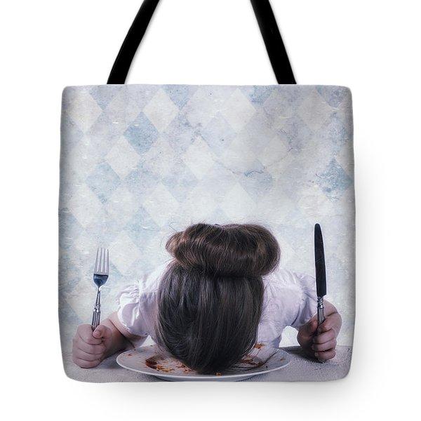 burnout Tote Bag by Joana Kruse