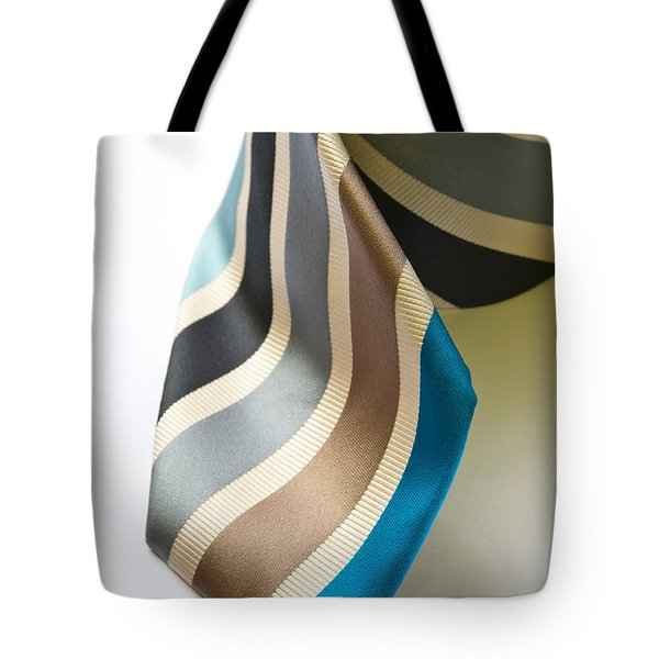 Business Tie Tote Bag by Tim Hester
