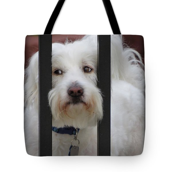 Busted Tote Bag by Ella Kaye Dickey