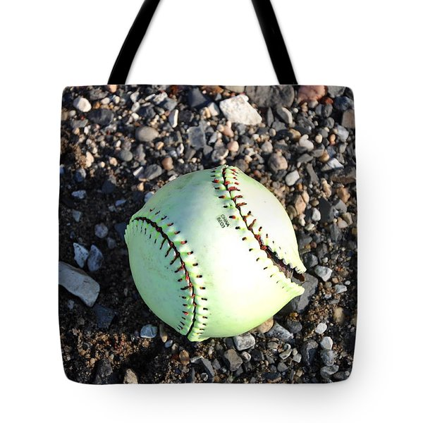 Busted Stitches Tote Bag by Bill Cannon