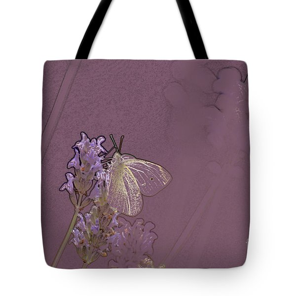 Butterfly 1 Tote Bag by Carol Lynch