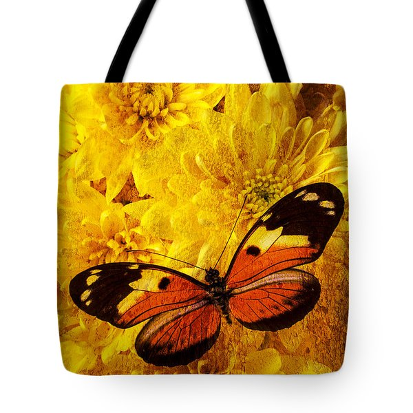 Butterfly Abstract Tote Bag by Garry Gay