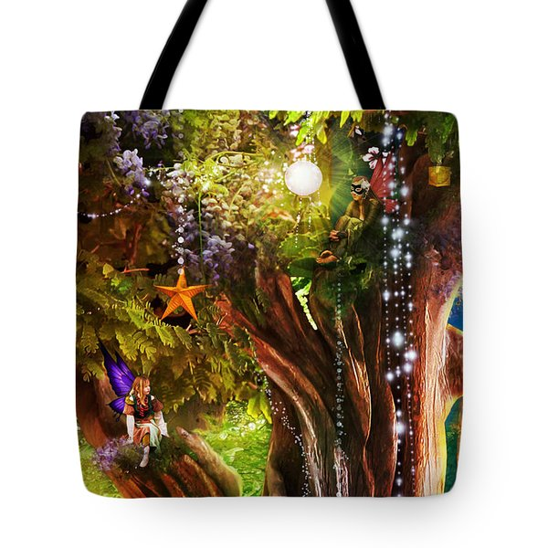 Butterfly Ball Tree Tote Bag by Aimee Stewart