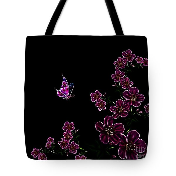 Butterfly Dancer 1 Tote Bag by Cheryl Young