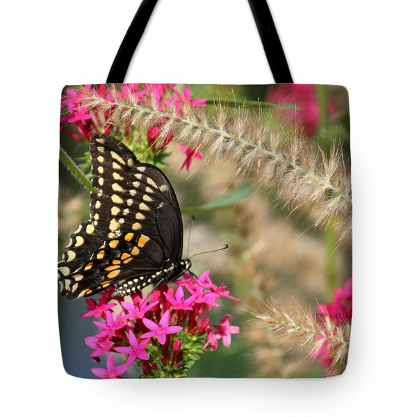 Butterfly Days Tote Bag by Suzanne Gaff