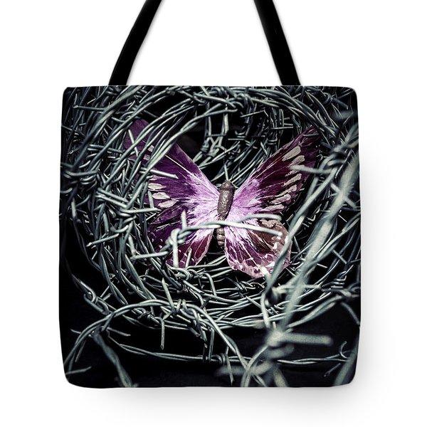 Butterfly Tote Bag by Joana Kruse
