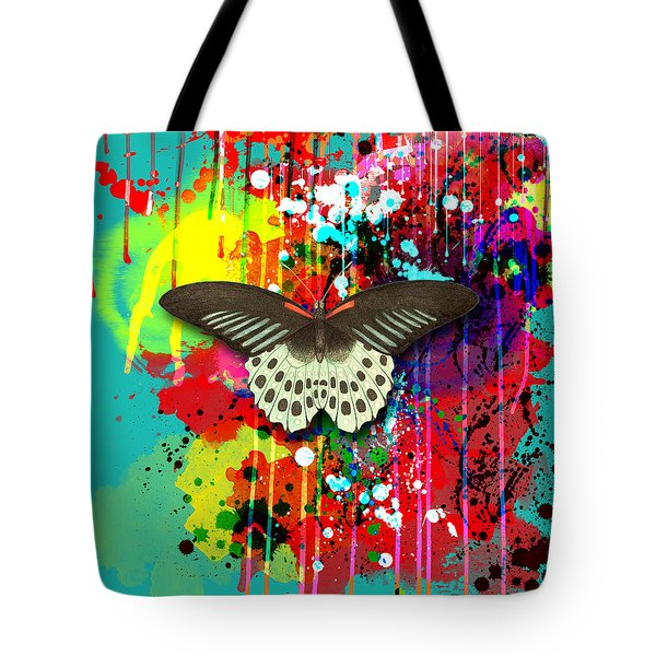Butterfly Montage Tote Bag by Gary Grayson
