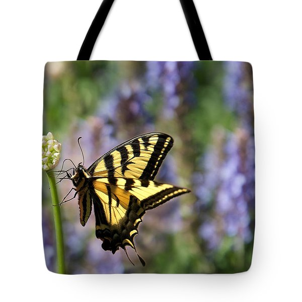 Butterfly Thoughts Tote Bag by Lisa Knechtel