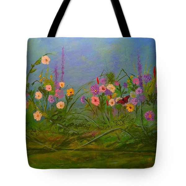 Butterflys Dream Land  Tote Bag by Michael Mrozik