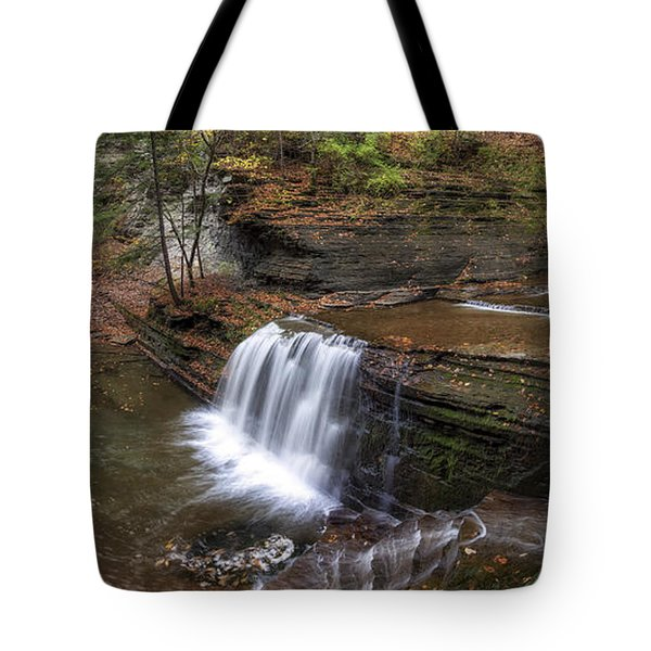 Buttermilk Creek Falls Tote Bag by Mark Papke