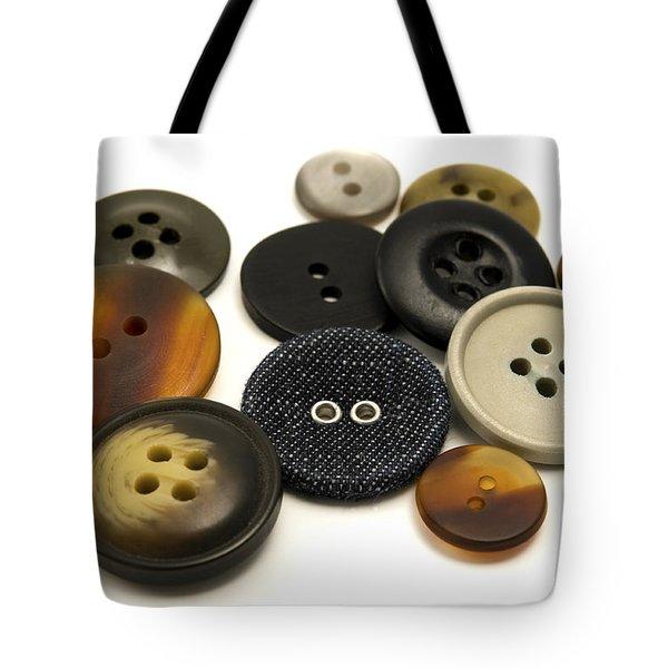Buttons Tote Bag by Fabrizio Troiani