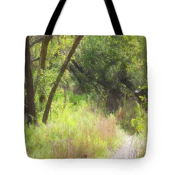 Buttonwood Forest Tote Bag by Rudy Umans