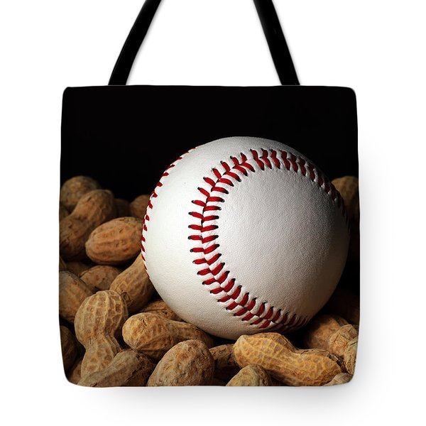 Buy Me Some Peanuts - Baseball - Nuts - Snack - Sport Tote Bag by Andee Design