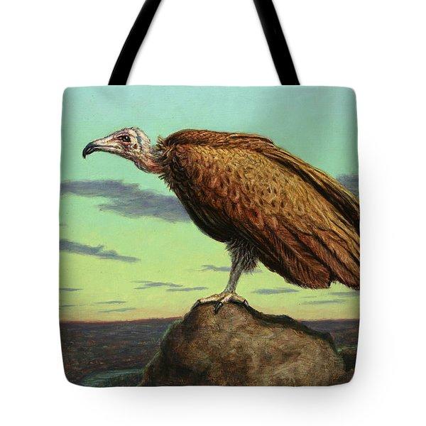 Buzzard Rock Tote Bag by James W Johnson