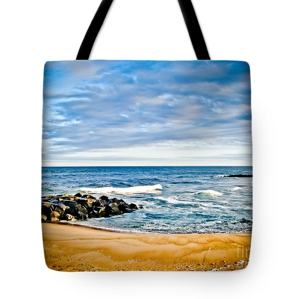 By The Beautiful Sea Tote Bag by Colleen Kammerer