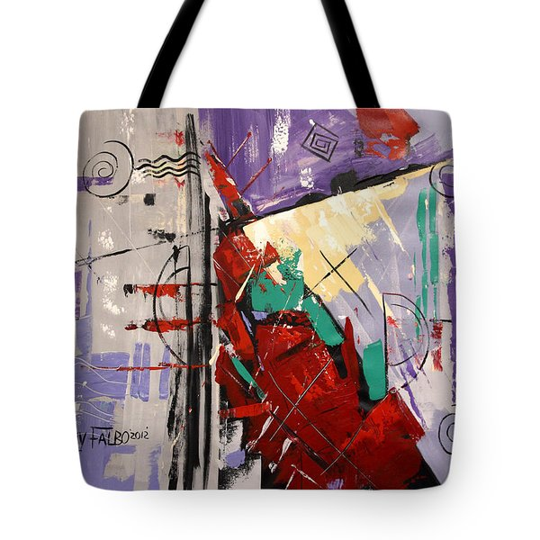 By The Blood Of Jesus Tote Bag by Anthony Falbo