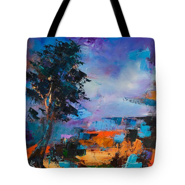 By the Canyon Tote Bag by Elise Palmigiani