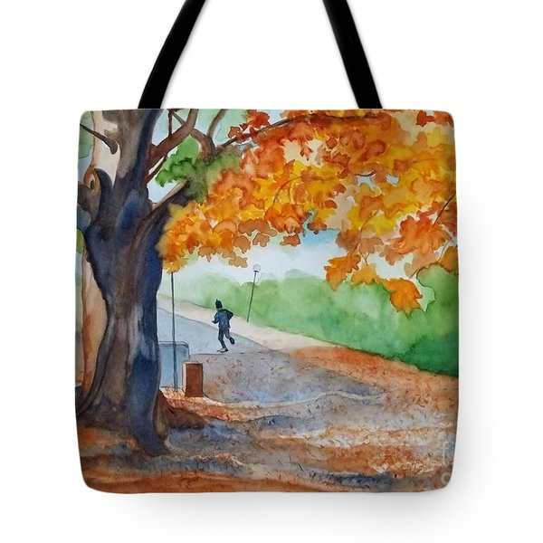By The Rideau Canal Tote Bag by Lise PICHE