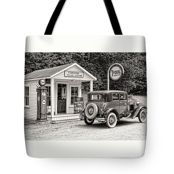 Bygone Days Tote Bag by Brenda Hackett